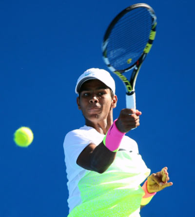 India youngster Nagal enters Wimbledon boys' doubles final