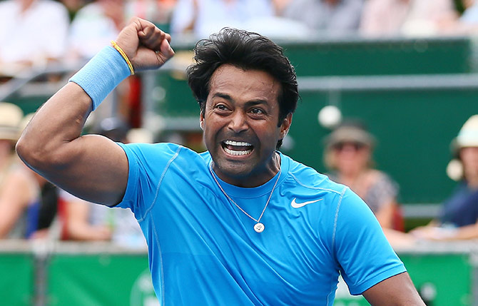 Rediff Cricket - Indian cricket - Wins for Paes, Sania and Bopanna at French Open