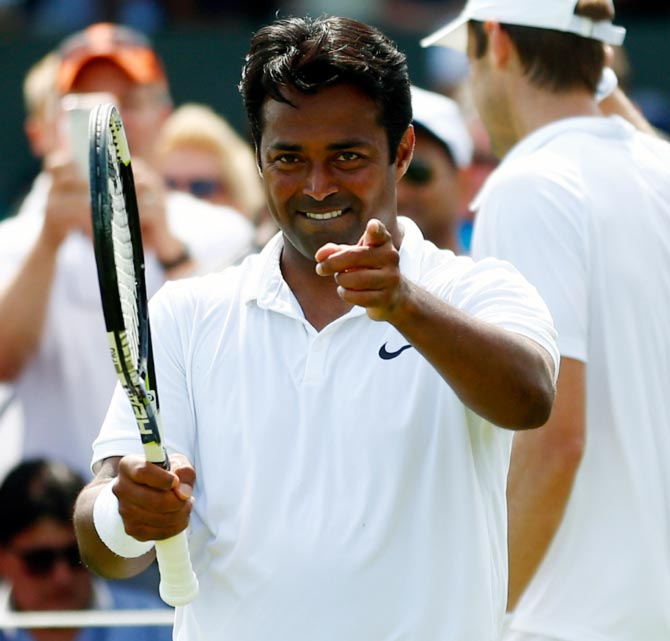 Rediff Sports - Cricket, Indian hockey, Tennis, Football, Chess, Golf - Davis Cup: Team which adapts quickly will have edge, says Paes