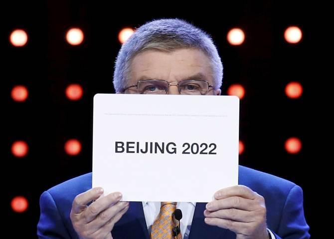 Rediff Sports - Cricket, Indian hockey, Tennis, Football, Chess, Golf - Beijing awarded 2022 Winter Olympics