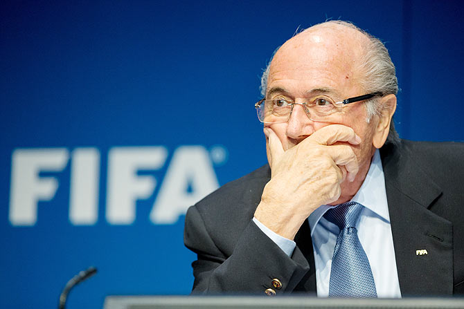 Rediff Sports - Cricket, Indian hockey, Tennis, Football, Chess, Golf - FIFA needs profound restructuring: Sepp Blatter