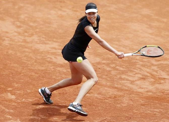 Rediff Sports - Cricket, Indian hockey, Tennis, Football, Chess, Golf - Ivanovic sails into French Open semis, meets Safarova