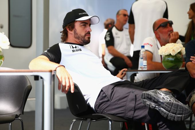Rediff Sports - Cricket, Indian hockey, Tennis, Football, Chess, Golf - McLaren's Alonso to retire from F1 at end of season