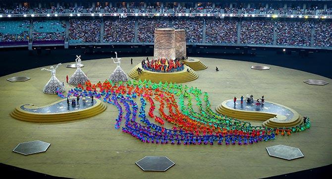 Rediff Sports - Cricket, Indian hockey, Tennis, Football, Chess, Golf - Ambitious Baku impresses but European Games future remains uncertain