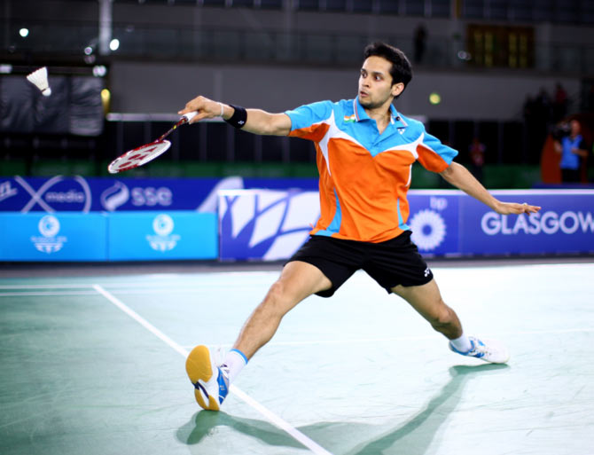 Rediff Sports - Cricket, Indian hockey, Tennis, Football, Chess, Golf - Korea Masters: Kashyap moves into second round bye