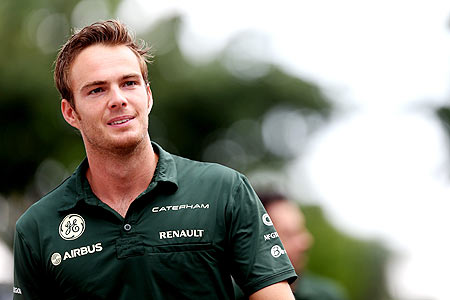 Giedo van der Garde of the Netherlands