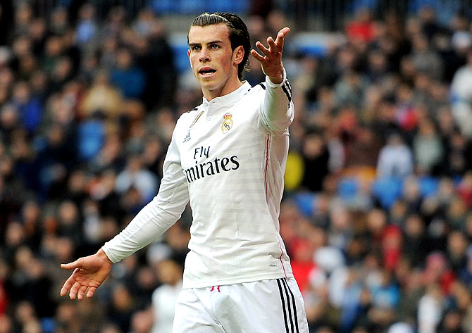 Rediff Sports - Cricket, Indian hockey, Tennis, Football, Chess, Golf - No Atletico player would make Real's XI, Bale says