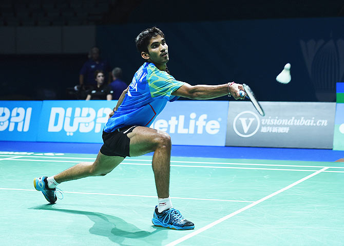 Kidambi Srikanth took just 37 minutes to down Japan's Kazumasa Sakai and win the Indonesia Open title