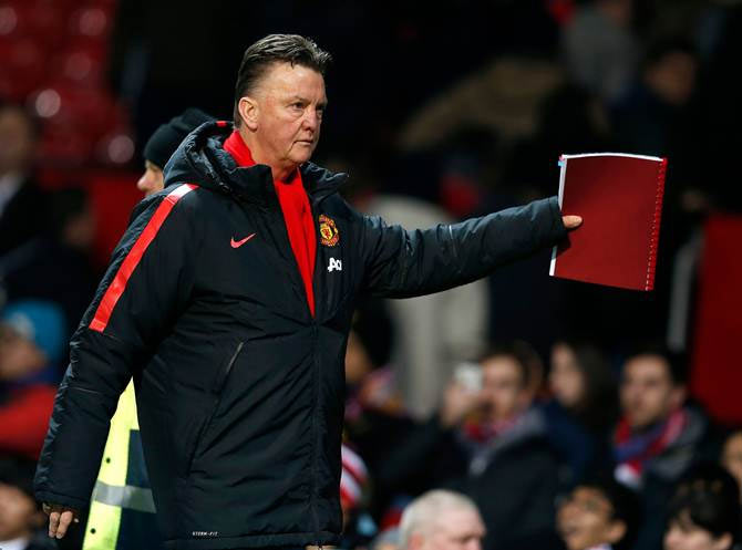 Rediff Sports - Cricket, Indian hockey, Tennis, Football, Chess, Golf - 'Van Gaal got what he deserved at Manchester United'