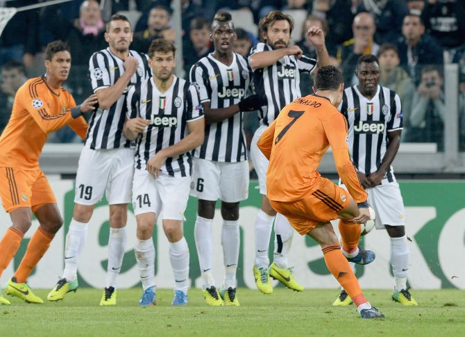 Rediff Sports - Cricket, Indian hockey, Tennis, Football, Chess, Golf - Real Madrid face another defensive barrier at Juventus