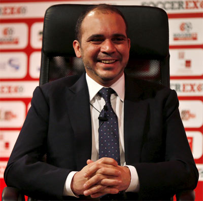 Rediff Sports - Cricket, Indian hockey, Tennis, Football, Chess, Golf - Prince Ali hints he might pull out of FIFA presidential race