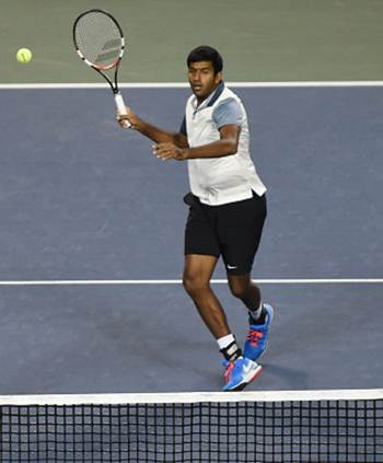 Rediff Sports - Cricket, Indian hockey, Tennis, Football, Chess, Golf - Bopanna-Mergea score hard-fought first round win at Madrid Open