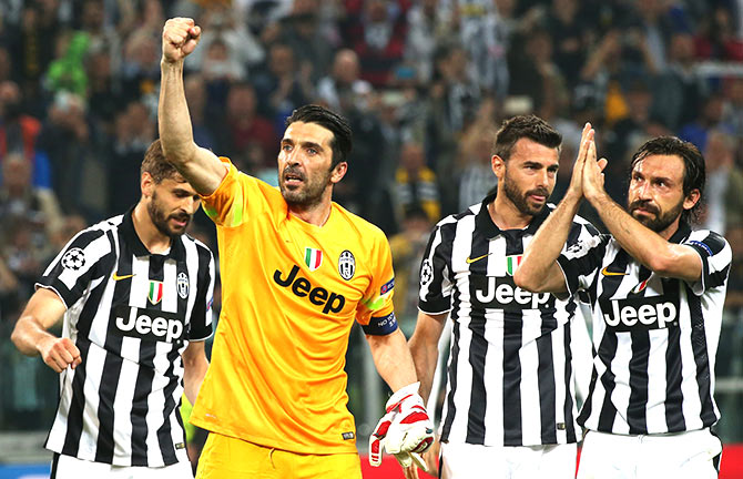 Rediff Sports - Cricket, Indian hockey, Tennis, Football, Chess, Golf - Juventus move a step closer to rejoining Europe's elite