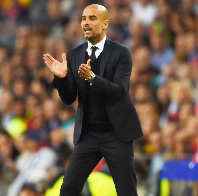 Rediff Sports - Cricket, Indian hockey, Tennis, Football, Chess, Golf - 13 Things you need to know about next City manager Guardiola