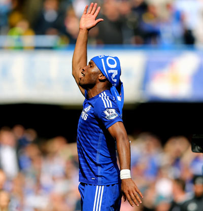 Rediff Sports - Cricket, Indian hockey, Tennis, Football, Chess, Golf - Drogba to leave Chelsea for second time