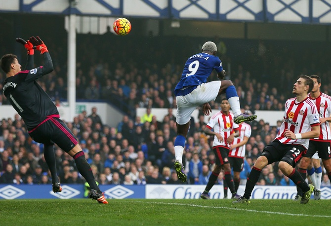 Arouna Kone of Everton