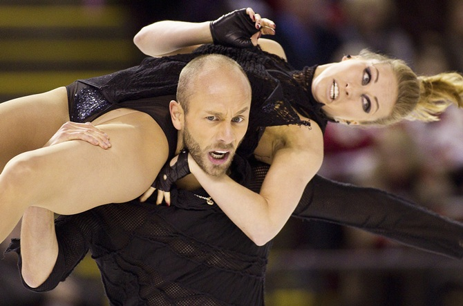 Germany's Nelli Zhiganshina and Alexander Gazsi