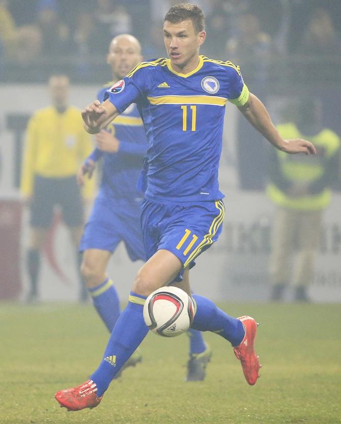 Euro 2016 Playoffs: Late Dzeko Goal Saves Bosnia