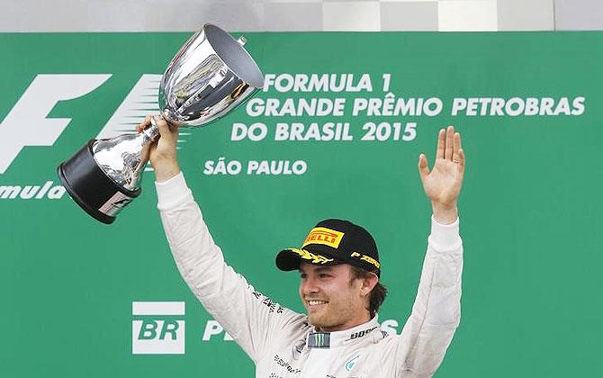 PHOTOS: Rosberg trumps Hamilton at Brazilian GP