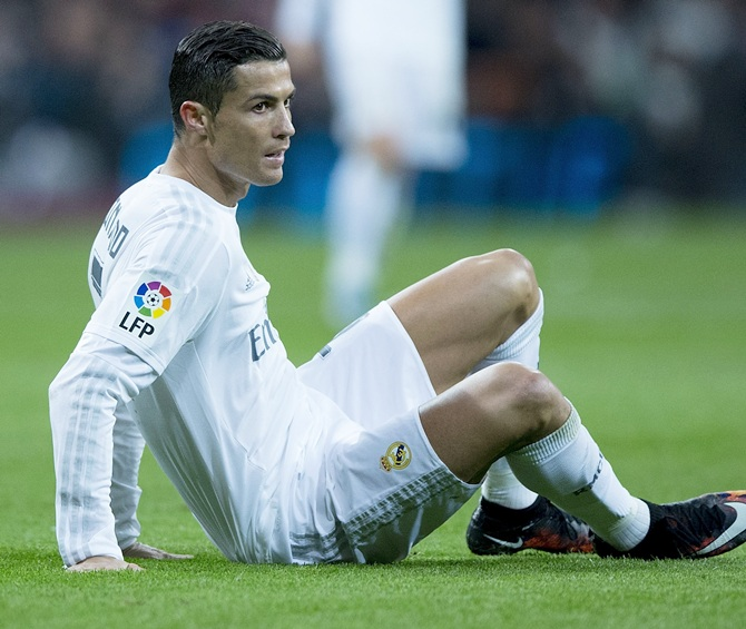Rediff Sports - Cricket, Indian hockey, Tennis, Football, Chess, Golf - Real's Ronaldo, Modric, Benzema rested for Deportivo game