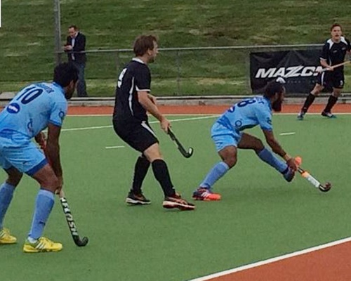 Rediff Sports - Cricket, Indian hockey, Tennis, Football, Chess, Golf - India beat second-string New Zealand