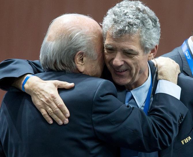 Rediff Sports - Cricket, Indian hockey, Tennis, Football, Chess, Golf - Meet the men in line for the job of FIFA interim boss