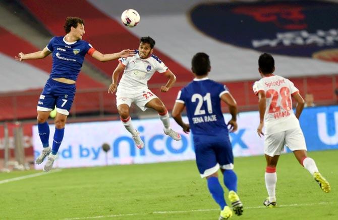 Rediff Sports - Cricket, Indian hockey, Tennis, Football, Chess, Golf - ISL: Delhi Dynamos edge past Chennaiyin