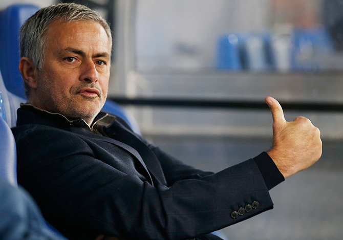 Rediff Sports - Cricket, Indian hockey, Tennis, Football, Chess, Golf - Mourinho's agent: Coach paid $27 million in taxes in Spain