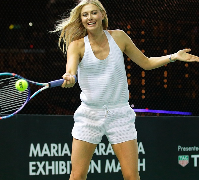 Rediff Sports - Cricket, Indian hockey, Tennis, Football, Chess, Golf - Do you think Sharapova should be punished more?