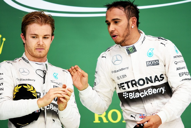 Mercedes to talk to Hamilton and Rosberg after clash