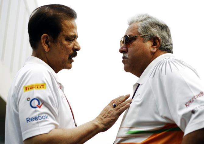 Sahara's problems not affecting Force India F1 team, says Mallya