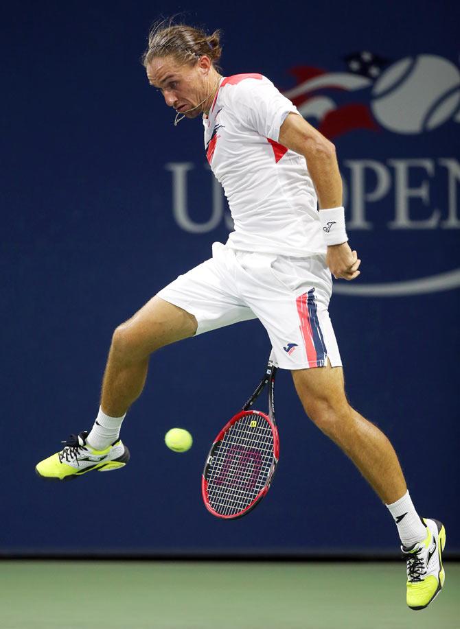 Rediff Sports - Cricket, Indian hockey, Tennis, Football, Chess, Golf - US Open PHOTOS: Williams scripts ruthless win; Djokovic, Nadal advance