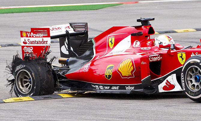 Pirelli to reveal reasons for Vettel's Belgian GP tyre blow