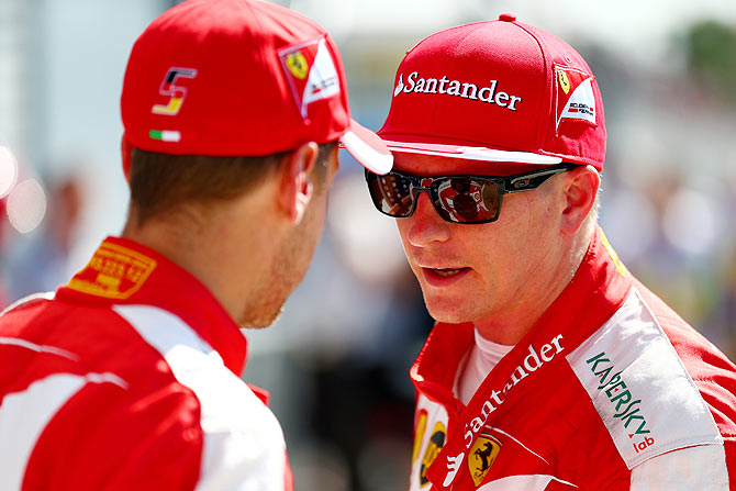 Formula One: Ferrari's Raikkonen keeps it cool after engine failure
