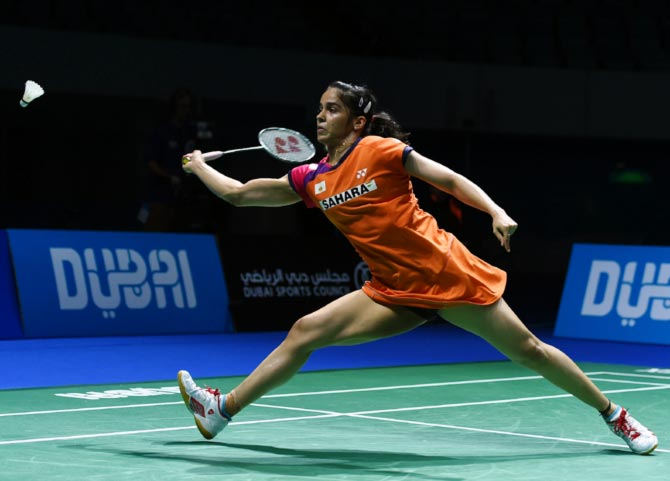 Rediff Sports - Cricket, Indian hockey, Tennis, Football, Chess, Golf - Saina battles into the second round of Macau Open