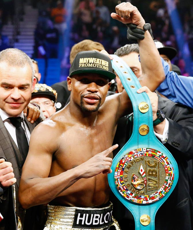 Mayweather Has Never Been An Undisputed Champion