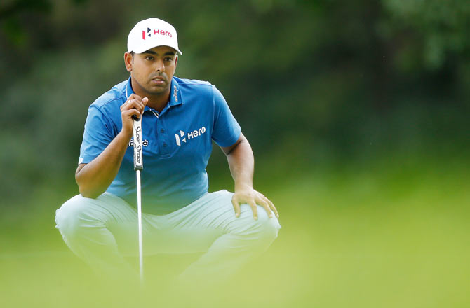 Anirban Lahiri of India