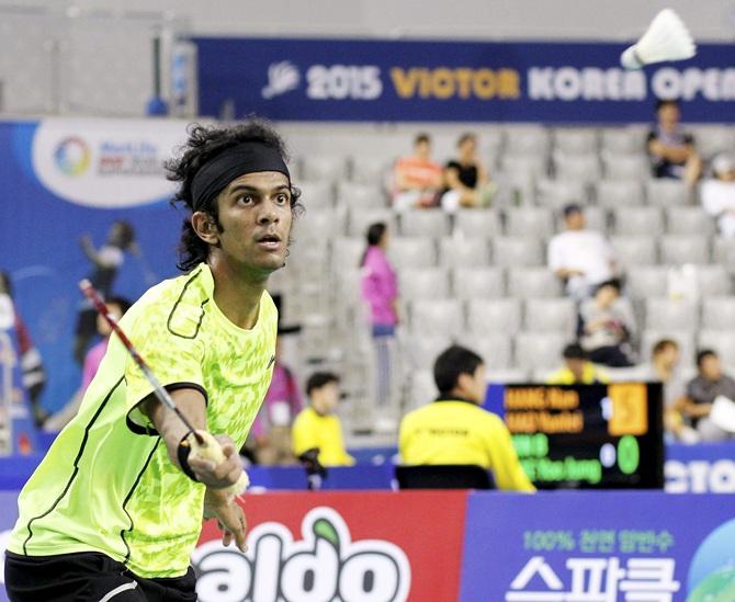 Rediff Sports - Cricket, Indian hockey, Tennis, Football, Chess, Golf - Dutch Open: Shuttlers Jayaram, Guru, Thulasi advance