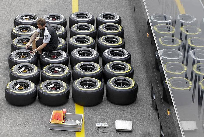 How tyres are allocated to F1 teams... without bias