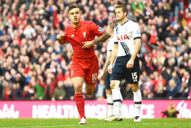 Rediff Sports - Cricket, Indian hockey, Tennis, Football, Chess, Golf - Liverpool reject second Barcelona bid for Coutinho