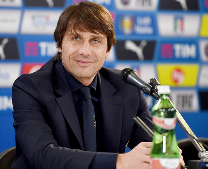 Rediff Sports - Cricket, Indian hockey, Tennis, Football, Chess, Golf - 'Conte's discipline the right tonic for Chelsea'