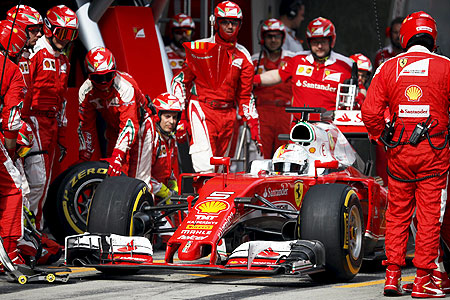 F1: Ferrari add embarrassment to frustration