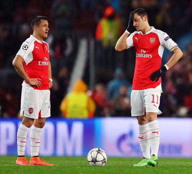 Rediff Sports - Cricket, Indian hockey, Tennis, Football, Chess, Golf - How Arsenal missed their big title chance