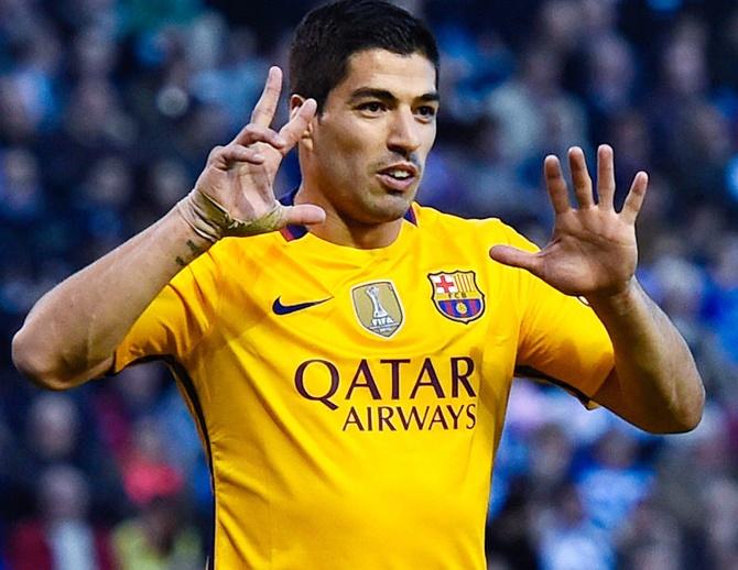 Rediff Sports - Cricket, Indian hockey, Tennis, Football, Chess, Golf - La Liga: Big win for Barcelona; Real see off Villarreal