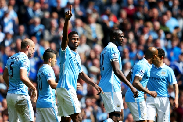Rediff Sports - Cricket, Indian hockey, Tennis, Football, Chess, Golf - Premier League: Iheanacho at the double as City go third