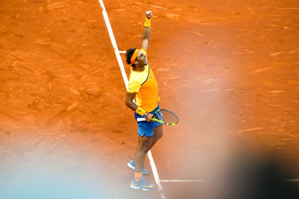 Rediff Sports - Cricket, Indian hockey, Tennis, Football, Chess, Golf - Barcelona Open: Nadal storms into final, closes in on Vilas