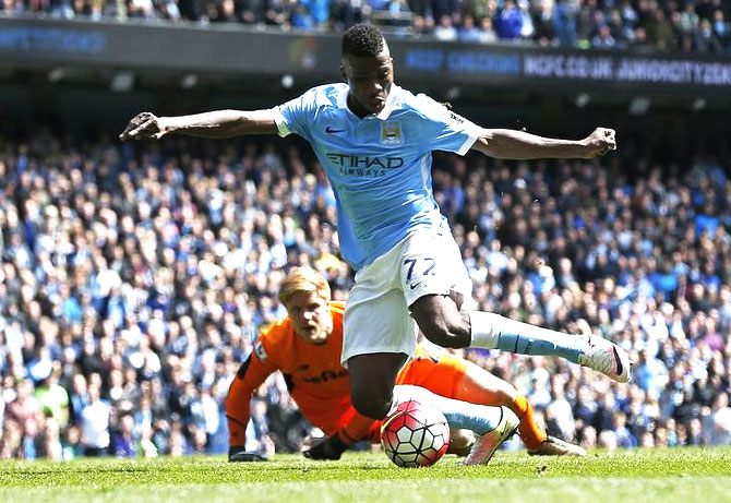 Rediff Sports - Cricket, Indian hockey, Tennis, Football, Chess, Golf - EPL PHOTOS: Man City go third, Newcastle hold Reds to rally