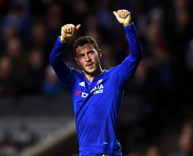 Rediff Sports - Cricket, Indian hockey, Tennis, Football, Chess, Golf - Will Hazard stay at Chelsea next season?