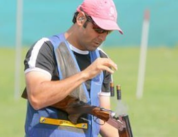 Rediff Sports - Cricket, Indian hockey, Tennis, Football, Chess, Golf - Shooting World Cup: Mairaj wins India's first skeet medal