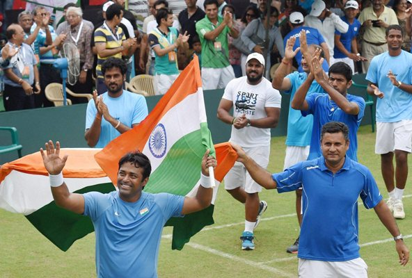 Rediff Sports - Cricket, Indian hockey, Tennis, Football, Chess, Golf - Delhi to host Indo-Spain Davis Cup tie
